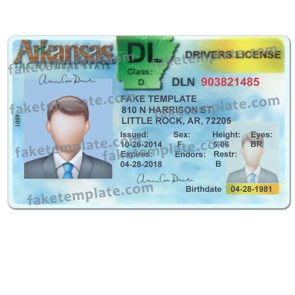 arkansas-driver-license-template-01