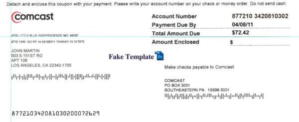 comcast-utility-bill-template-01