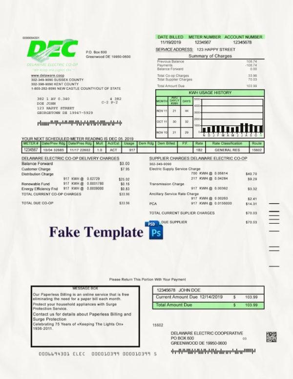 delaware-utility-bill-template-01