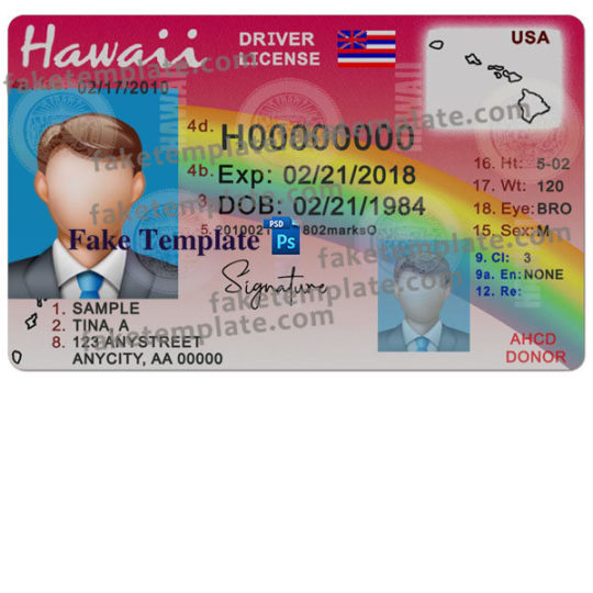 hawaii-driver-license-template-01