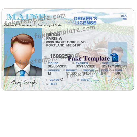 maine-driver-licence-template-01